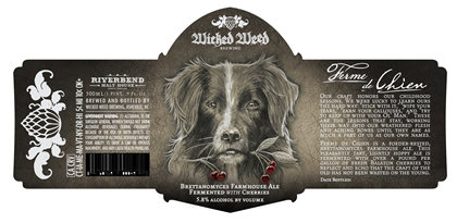 Wicked Weed Ferme De Chien 500ml Triangle Wine Company