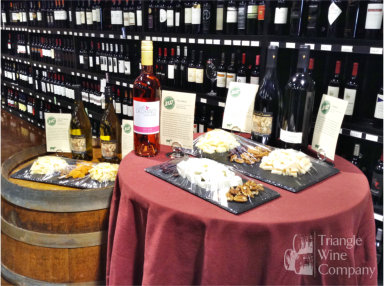 Evening Wine Tasting Events at Triangle Wine Company