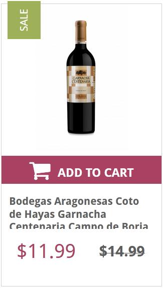 Buy Spanish Garnacha Wine