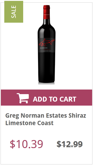 Greg Norman Estates Shiraz Limestone Coast Wine