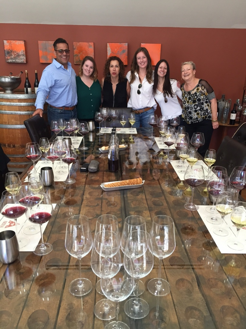 Triangle Wine Company Artesa Winery California Staff Trip