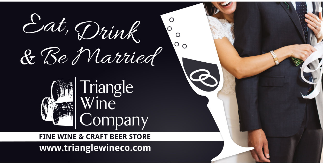 Plan your Wine and Beer for Weddings at Triangle Wine Company