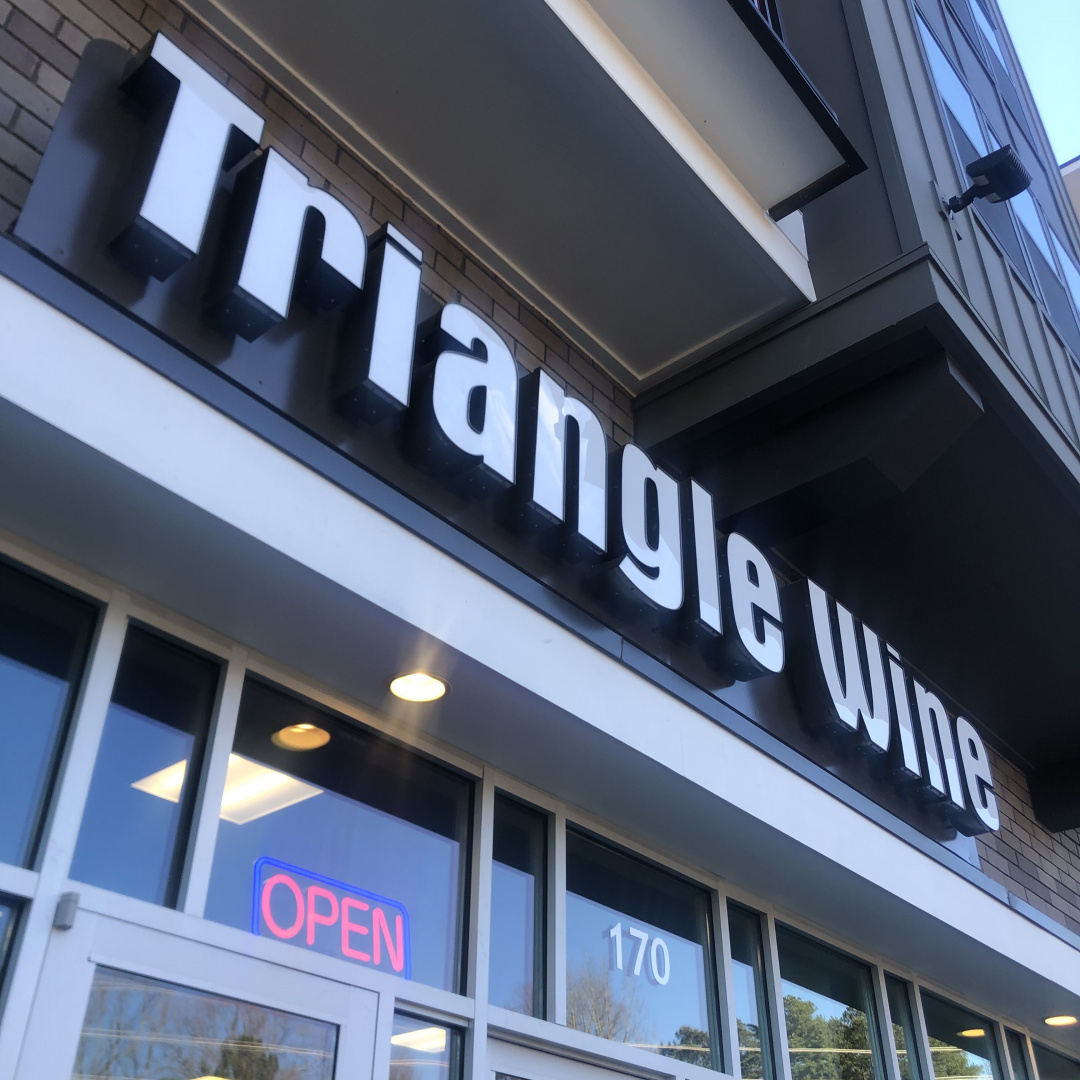 Triangle Wine Company Raleigh store