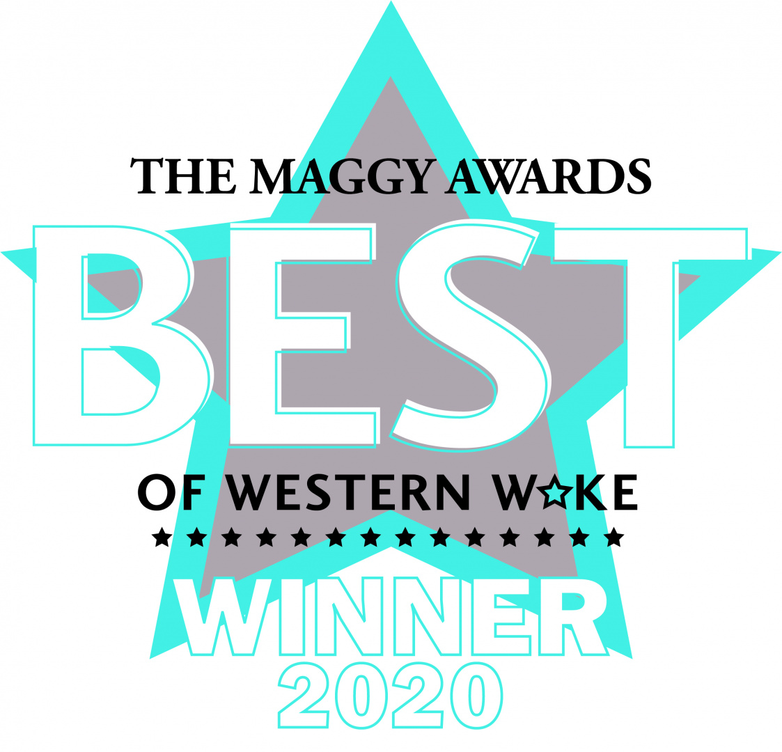 Triangle Wine Company winner 2020 Best of Western Wake Cary Magazine Maggy Award Best Wine Store