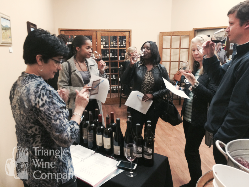 Bridal Wine Tasting Event 2016 Triangle Wine Company Cary