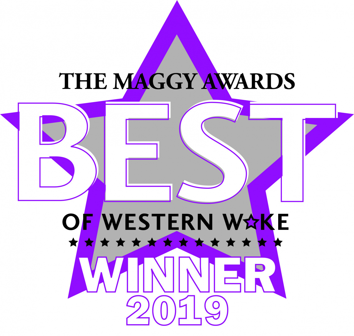 Triangle Wine Company winner 2019 Best of Western Wake Cary Magazine Maggy Award Best Wine Store